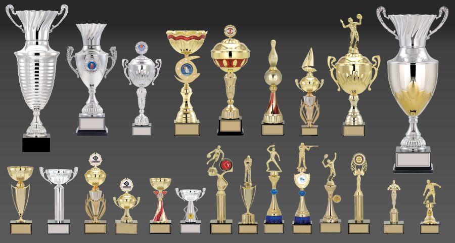 Kupa, Ödül Kupası, Bafra Ödül Kupası, Oscar, Samsun Ödül Kupası, Ödül Kupaları